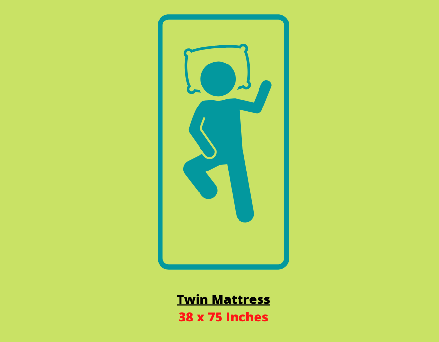 Twin mattress size