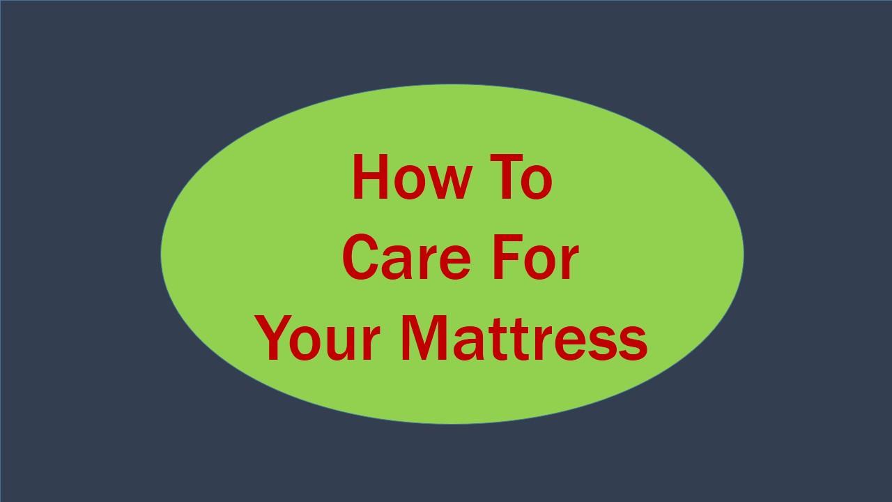 mattress care