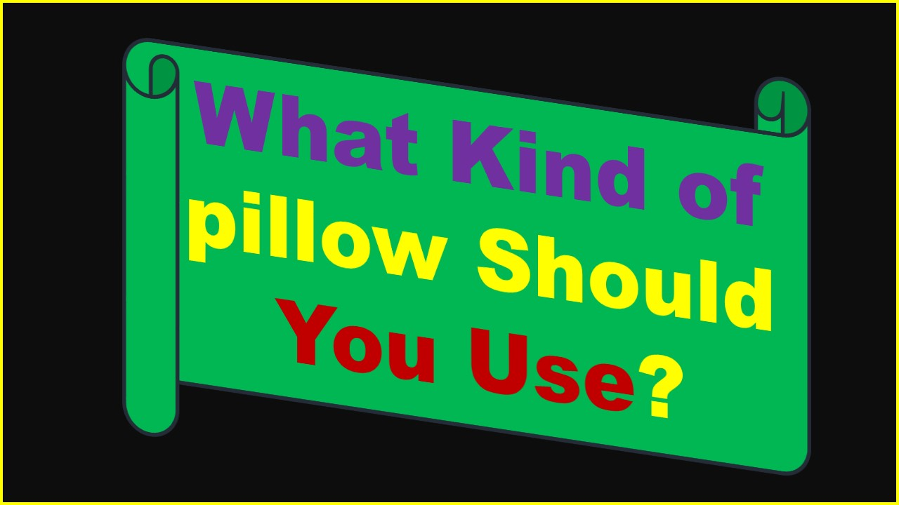 pillow uses