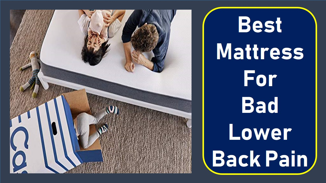 The 08 Best Mattressess For Bad Lower Back Pain Mattress Ever