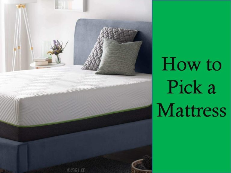 how to pick mattress