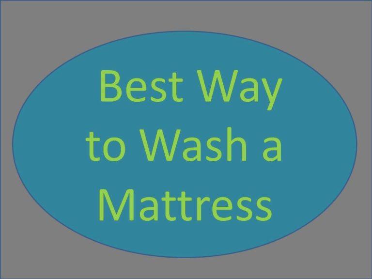 Best Way to Wash a Mattress
