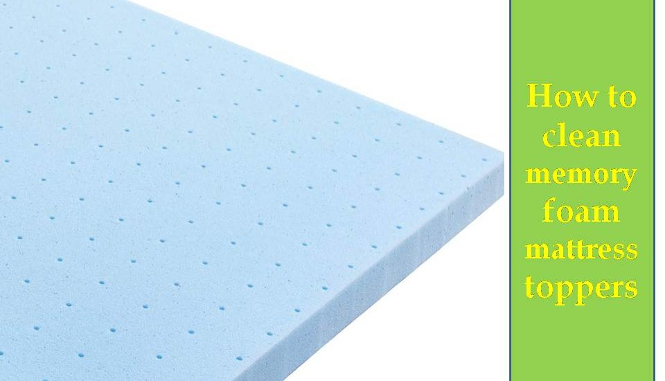 How to clean memory foam mattress toppers - Mattress Ever How To Clean Mattress Topper on fleas on mattress, recycle mattress, bed bug stains on mattress, dirt on bed bug mattress,