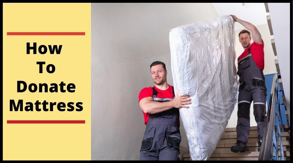 how to donate mattress
