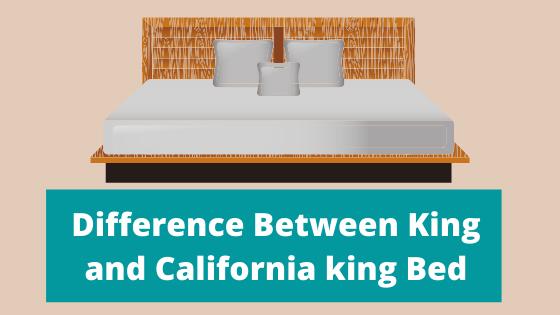 King vs California king bed