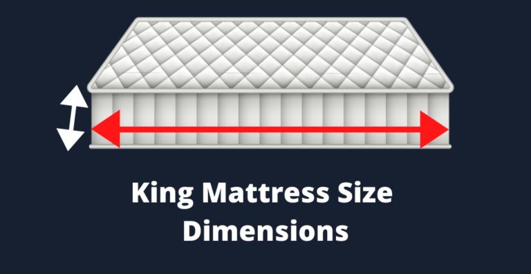 King Mattress Size Dimensions