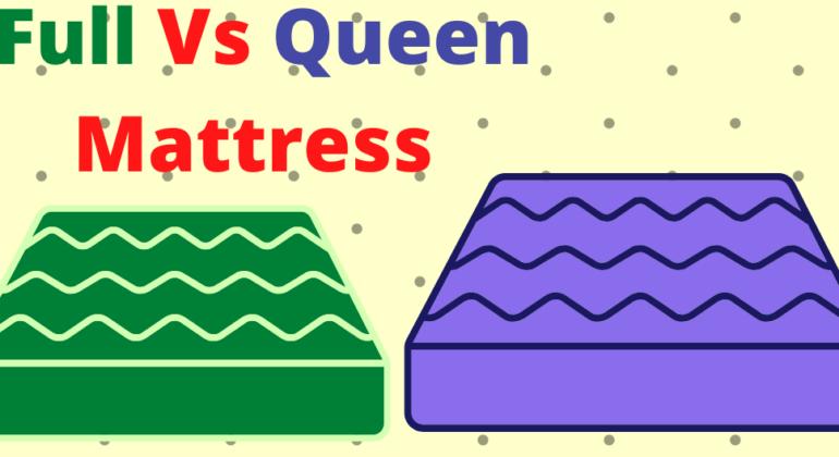 full vs queen mattress