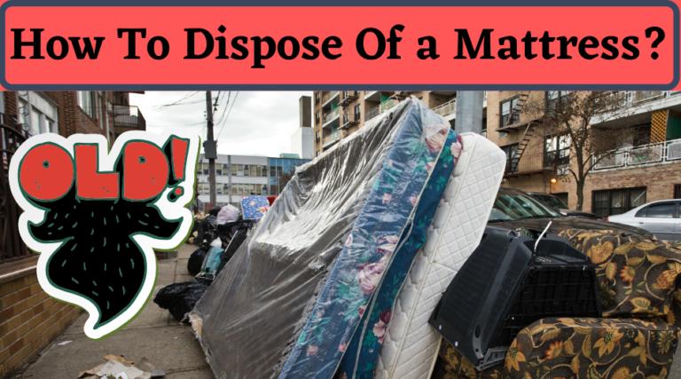 mattress dispose